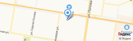 Наши двери на карте Барнаула