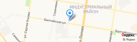 Автодок на карте Барнаула