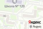 Схема проезда до компании KINO в Барнауле