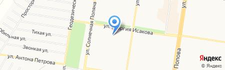 Розмари на карте Барнаула