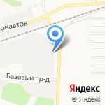 Супермаркет на карте Барнаула