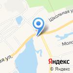 Библиотека №27 на карте Барнаула