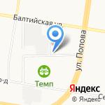 Технополис на карте Барнаула