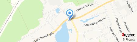 Почтовое отделение №29 на карте Барнаула