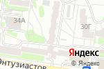 Схема проезда до компании Энтузиаст, ТСЖ в Барнауле
