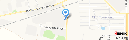 Барнаульский молочный комбинат на карте Барнаула