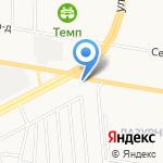 Перекресток на карте Барнаула