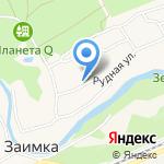 Танк Двери на карте Барнаула