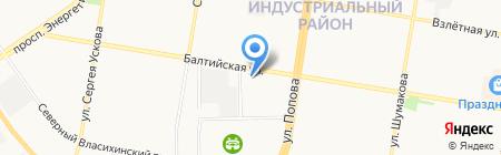 7БИТ на карте Барнаула