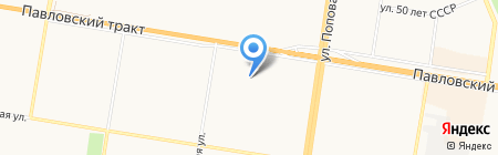 Росгосстрах-Алтай-Медицина на карте Барнаула