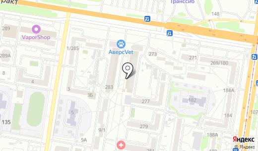 Ромашка. Схема проезда в Барнауле