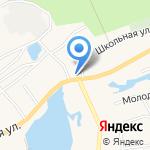 Золотой колос на карте Барнаула