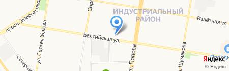 Мастерская по ремонту автомобилей Daewoo на карте Барнаула