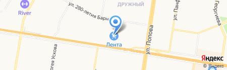 АлтаVita на карте Барнаула