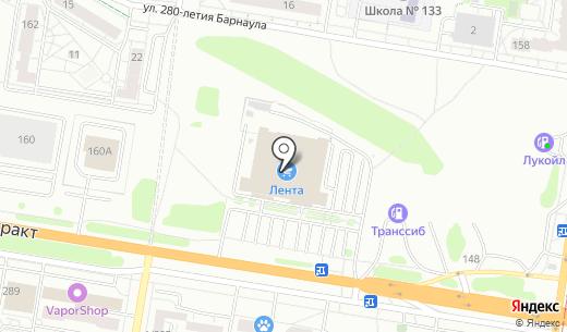 ОЛИВИН. Схема проезда в Барнауле