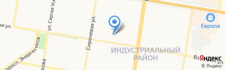 Лицей №121 на карте Барнаула
