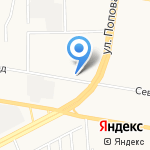 РЕСО-Гарантия на карте Барнаула