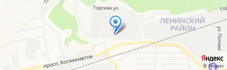 Телекомстрой на карте Барнаула