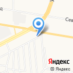 РЕЗИНОТЕХНИКА на карте Барнаула
