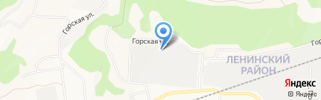 Формула мебели на карте Барнаула