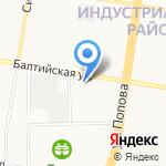 Алтайский центр технического обслуживания на карте Барнаула
