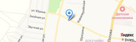 BLESK на карте Барнаула