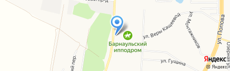 Пони-клуб на карте Барнаула