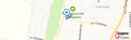 Автомат-центр на карте Барнаула