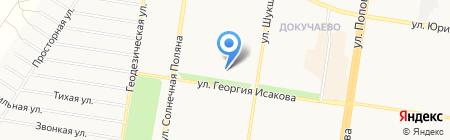 Чародейка на карте Барнаула
