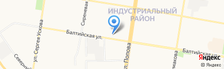 АНТИКРАЖ на карте Барнаула