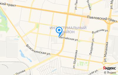Местоположение на карте пункта техосмотра по адресу г Барнаул, ул Балтийская, д 81