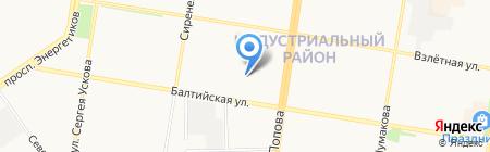 Бочкари 1 на карте Барнаула