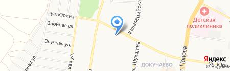 Магазин обуви на карте Барнаула