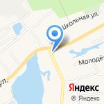 Коробейник на карте Барнаула