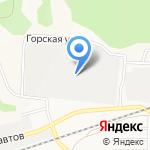 Ависта на карте Барнаула