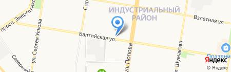 Алтай Авто плюс на карте Барнаула