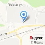 Алтайская академия экономики и права на карте Барнаула