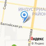Строй-безопасность на карте Барнаула