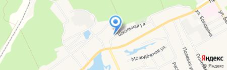 Средняя общеобразовательная школа №93 на карте Барнаула