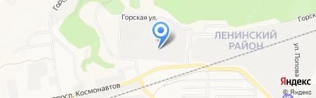 Мебельный Арсенал на карте Барнаула