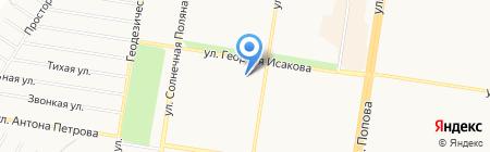 За Вас на карте Барнаула
