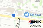 Схема проезда до компании Парадиз в Барнауле