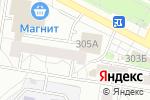 Схема проезда до компании Сабина в Барнауле