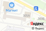 Схема проезда до компании Салон в Барнауле