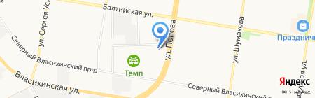 Логика на карте Барнаула
