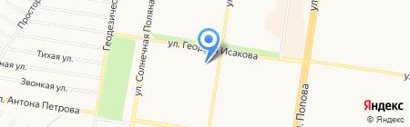 Краснощековский молочный комбинат на карте Барнаула