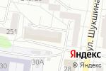 Схема проезда до компании Барнаульский Булочник в Барнауле