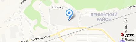 Авантаж на карте Барнаула