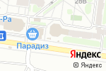 Схема проезда до компании Мебелиссимо в Барнауле