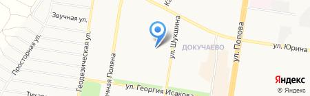 Детский сад №179 на карте Барнаула